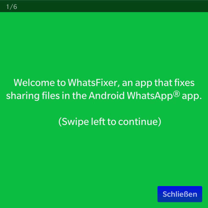 Whatsfixer Screen 1